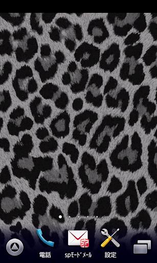 white leopard wallpaper