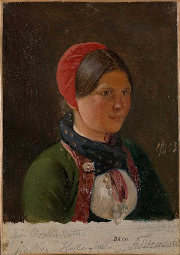 Girl from Hallingdal