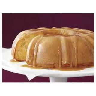 Moist Caramel Apple Cake.