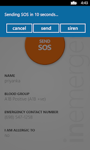 InEmergency screenshot