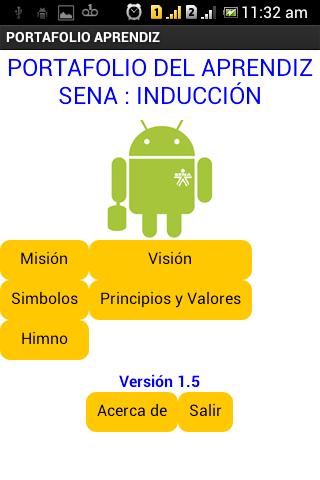 Aprendiz SENA: Inducción