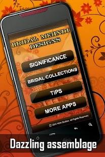 Bridal Mehndi Designs - screenshot thumbnail