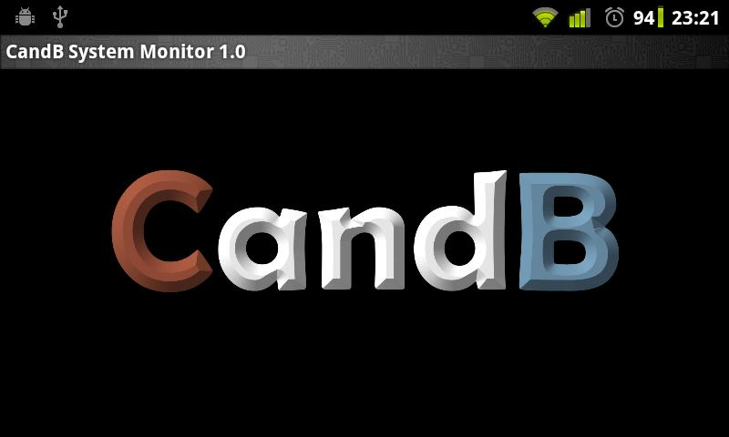 CandB System Monitor - screenshot