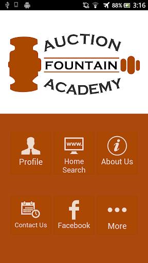 Fountain Auction Academy