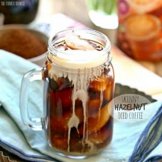 Skinny Hazelnut Iced Coffee.
