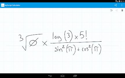 MyScript Calculator Screenshot 21