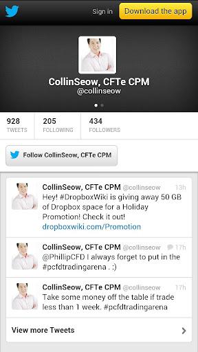 Collin Seow Tweets