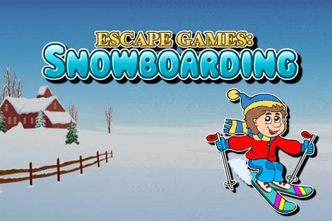 逃脱游戏:单板滑雪