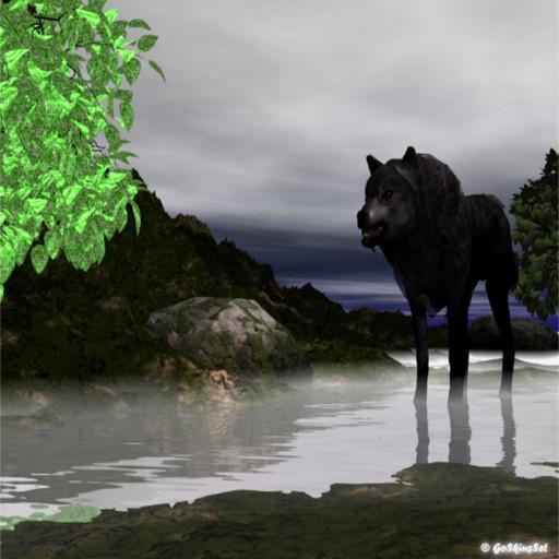 Wolf Go Locker Theme LOGO-APP點子