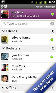 Go!Chat for Yahoo! Messenger - screenshot thumbnail