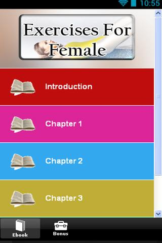 【免費健康App】Exercises For Female-APP點子