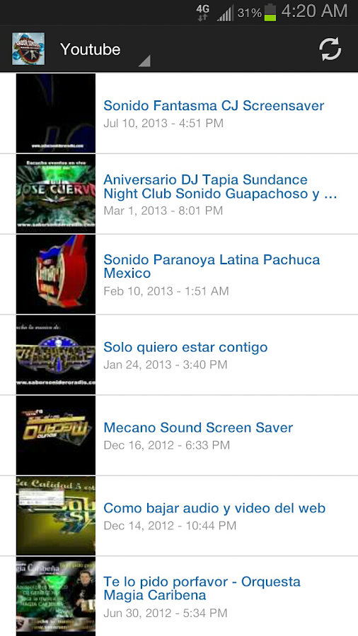 Sabor Sonidero Radio- screenshot