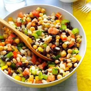 Marinated Three-Bean Salad.