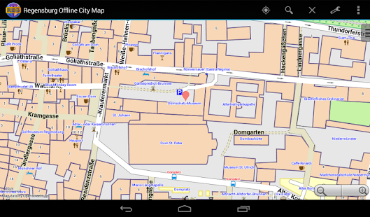Regensburg Offline City Map- screenshot thumbnail