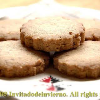Hazelnut Cookies.