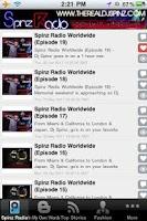 Screenshot of Spinz Radio Worldwide