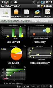 Portfolio Tracker (Stocks) - screenshot thumbnail