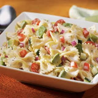 Creamy Fiesta Pasta Salad.