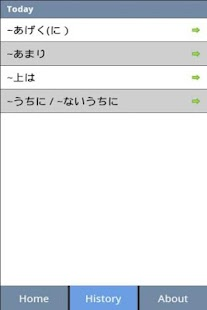 Japanese Grammar N2 Lite - screenshot thumbnail