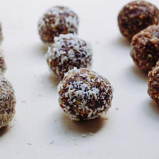 Raw Pecan Tart Truffles