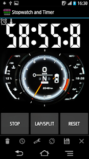 Simple Stopwatch & Timer free - screenshot thumbnail