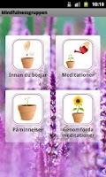 Screenshot of Mindfulnessgruppen