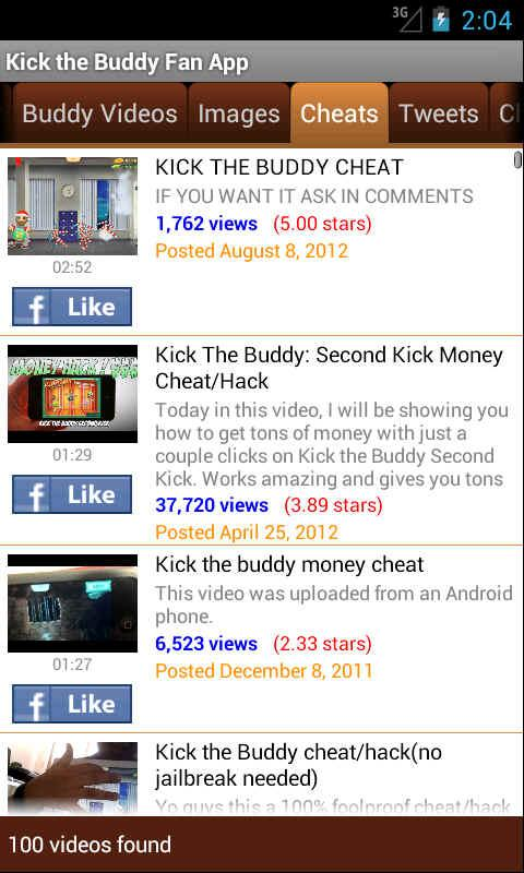 Kick the Buddy Fan App - screenshot