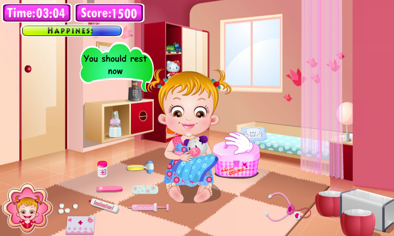 Baby Hazel Doctor Play- screenshot