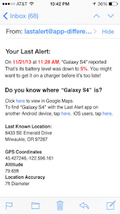 Last Alert Pro Find Your Phone - screenshot thumbnail