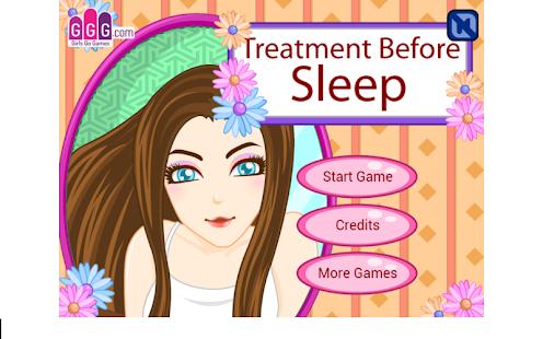 Treatment Before Sleep