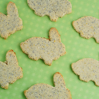 Lemon Poppy Seed Bunny Cookies.