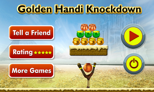 Golden handi Knockdown