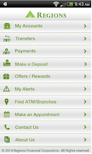 Regions bank apps on google play screenshot image reheart Image collections