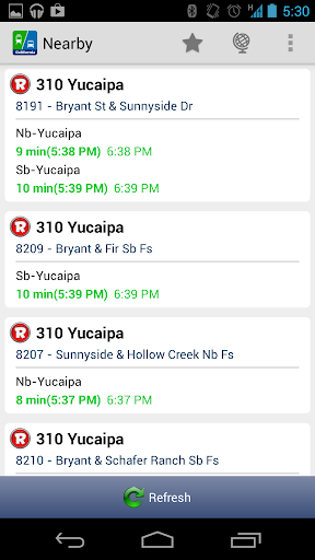 Live Bus Schedule - California  screenshots 1