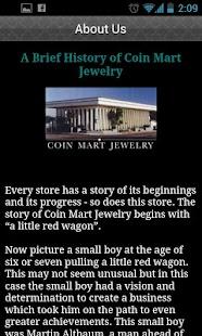 Coin Mart Jewelry- screenshot thumbnail