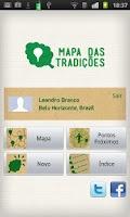 Screenshot of Mapa das Tradições