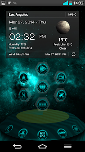 NEXT LAUNCHER THEME SUPERNOVAc- screenshot thumbnail