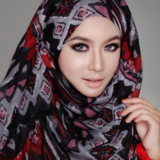 لفات حجاب خليجية