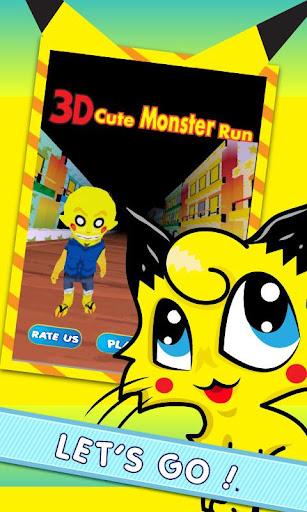3D Cute Monster Run