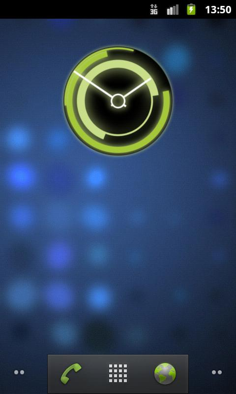 Honeycomb Clock FREE- screenshot