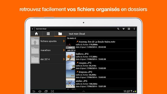 Le Cloud d'Orange - screenshot thumbnail