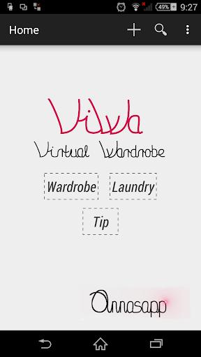 ViWa Virtual Wardrobe