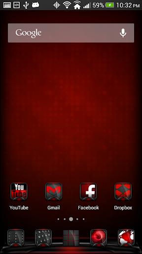 Vox Red Theme Apex Nova ADW
