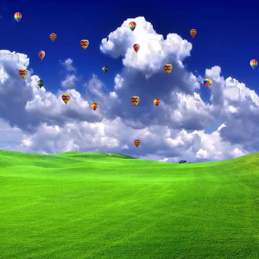 Parachutes Wallpaper