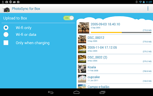 Photo Sync for Box (Uploader) - screenshot thumbnail