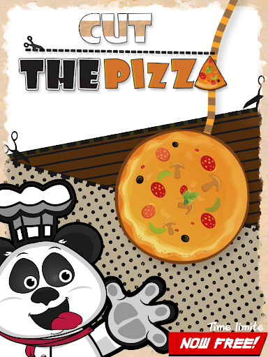 Panda slice Pizza cut the rope