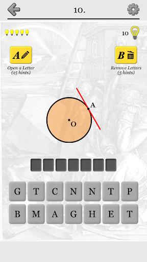 Geometric Shapes: Triangles & Circle Geometry Quiz 2.0 screenshots 2