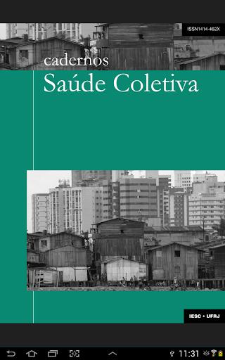 Cadernos Saúde Coletiva