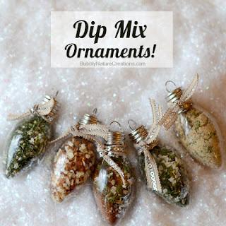Dip Mix Ornaments!.