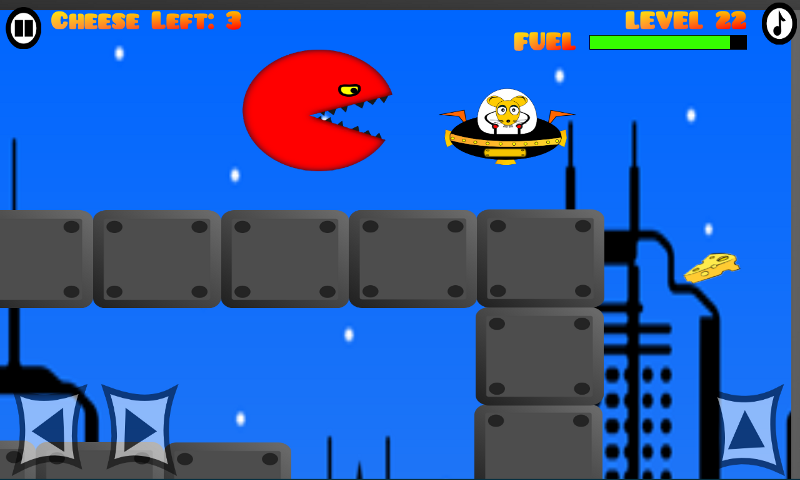 Eat the Cheese: Flying Mouse - screenshot